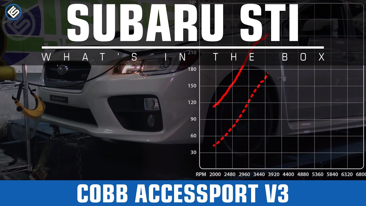 cobb accessport v3 stage 1 2015 subaru sti dyno review install youtube. Black Bedroom Furniture Sets. Home Design Ideas