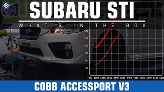 COBB Accessport V3 (Stage 1) 2015 Subaru STI Dyno/Review/Install