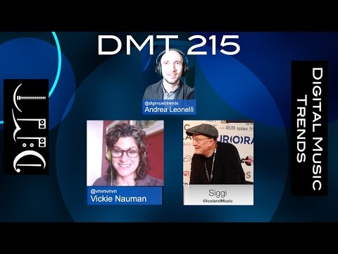DMT 215: CES Music Gadgets, Deezer's Muve, Spotify growth, Iceland Music Export Mp3