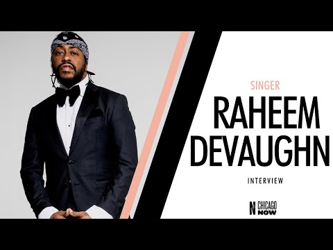 """Thumbnail image for 'Raheem DeVaughn Discusses New Album """"What A Time To Be In Love""""'"""