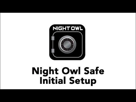 Night Owl Safe - Initial Setup (iOS & Android)