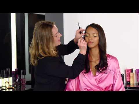 Get the Look Victorias Secret Metallic Makeup