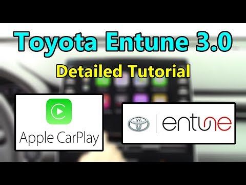 toyota-entune-3.0-(*now-w/-apple-carplay*)-2019-detailed-tutorial-and-review:-tech-help
