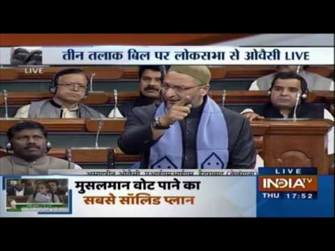 Owaisi And Ravi Shankar Prasad Speak On Triple Talaq Bill In LS | LIVE