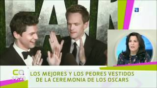 Guadalupe Cuevas, de Fashion Assistance, comenta la alfombra roja de los Oscars 2012, en la TPA Thumbnail