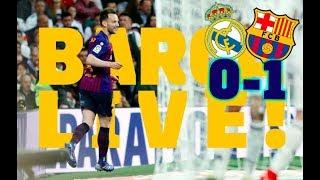 REAL MADRID 0-1 BARÇA | BARÇA LIVE | El Clásico: Warm up & Matchcenter