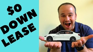 How To Get The Best Deal On $0 DOWN Lease - Car Lease Tutorial