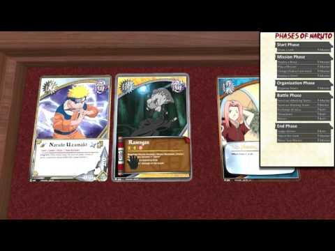 How To Play: Naruto Collectible Card Game