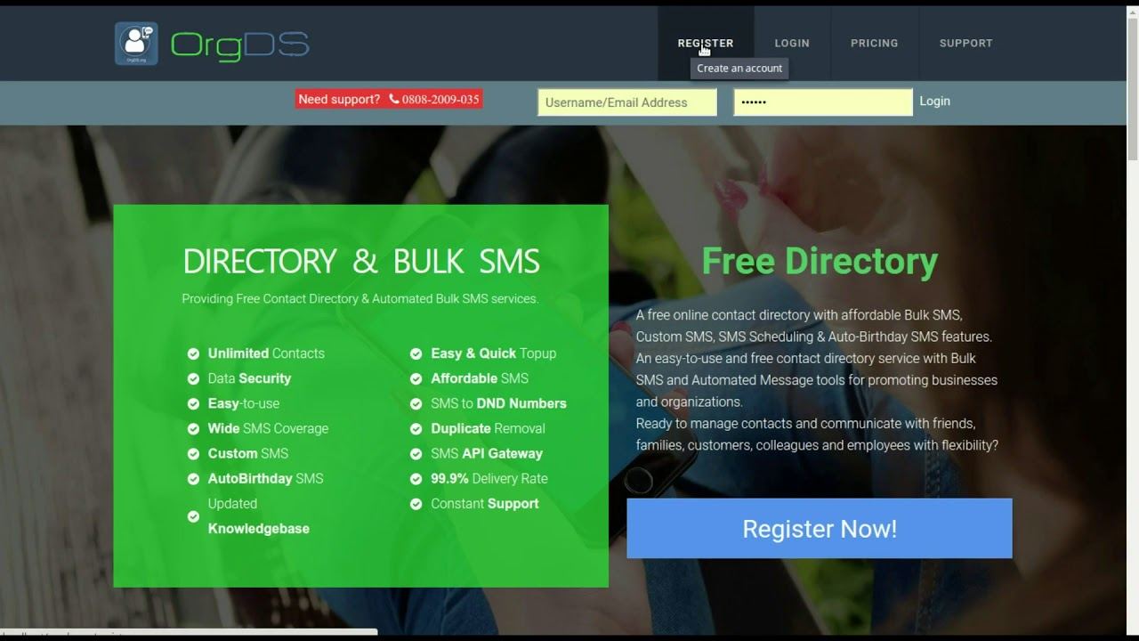 OrgDS Knowledgebase » Nigeria's #1 free online contact