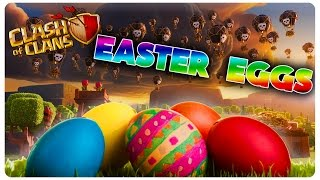 Easter Eggs | Clash of Clans Romania