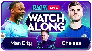 MAN CITY vs CHELSEA with Mark GOLDBRIDGE LIVE