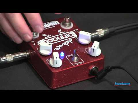 Wampler Pinnacle Deluxe Overdrive Pedal Demo at GearFest '13 - Sweetwater Sound