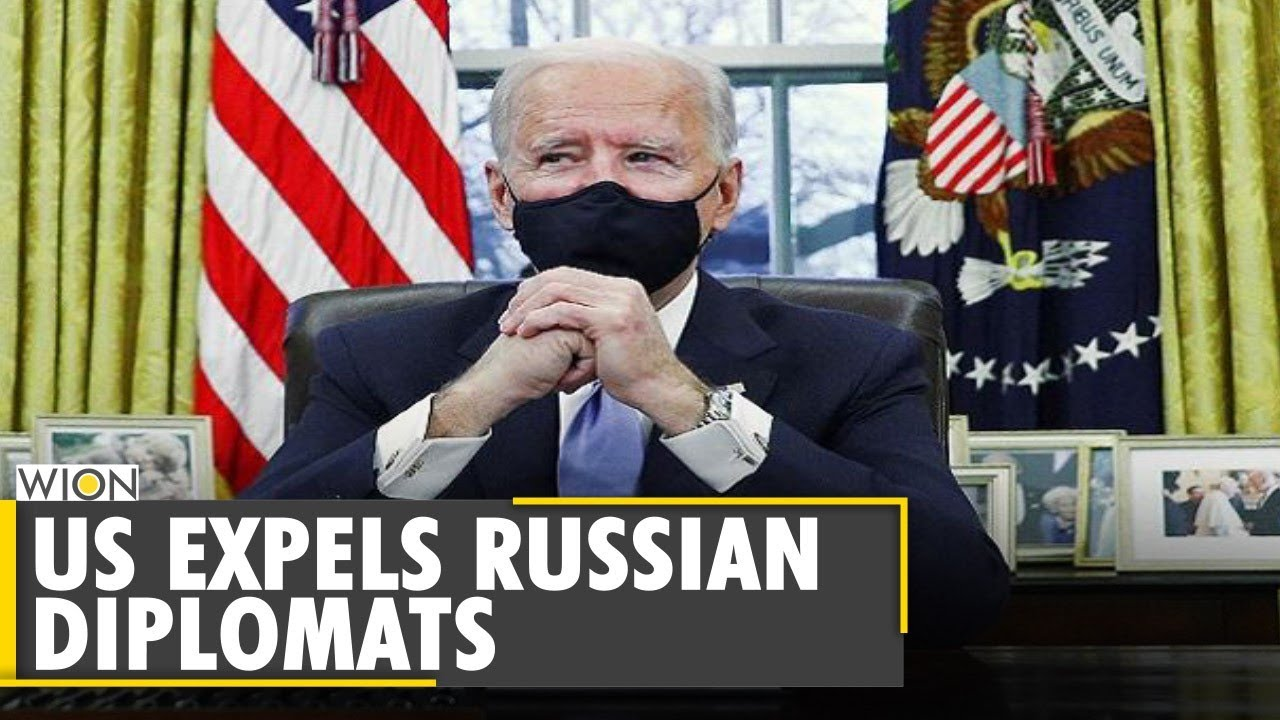 US President Joe Biden expels 10 Russian diplomats | Vladimir Putin | Latest World English News