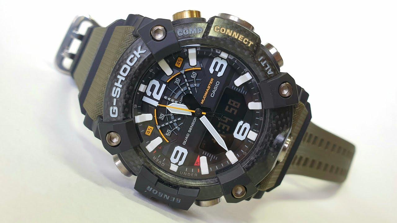 G-SHOCK GG-B100 Mudmaster. Обзор/Review