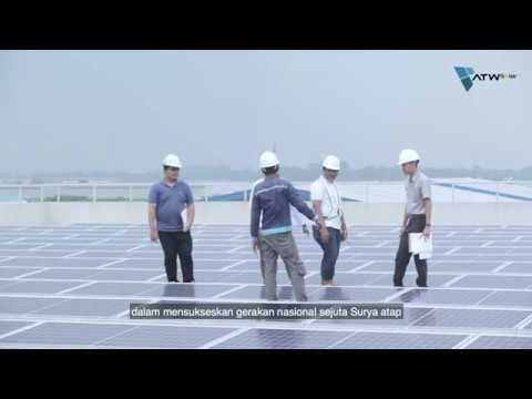 ATW Solar - 200kWp Project @ Kalbio Manufacturing Plant