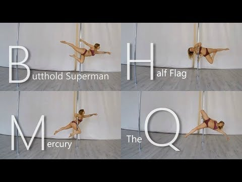 Pole Dance Moves A-Z *NEW EDITION*
