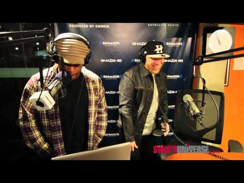 Krondon and Double R Kick a Freestyle on #SwayInTheMorning