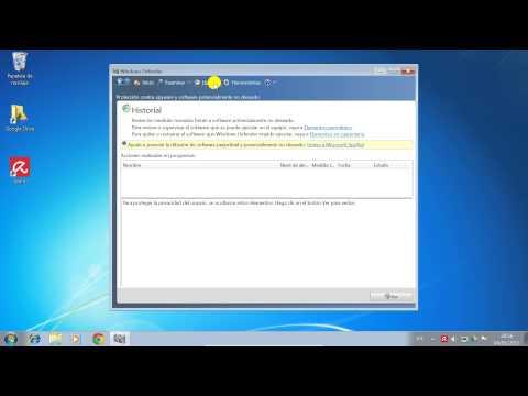 Qué es Windows Defender y cómo configurarlo en Windows 7