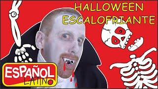 Halloween Escalofriante | Canciones de Halloween |Rimas Infantiles | Steve and Maggie Español Latino