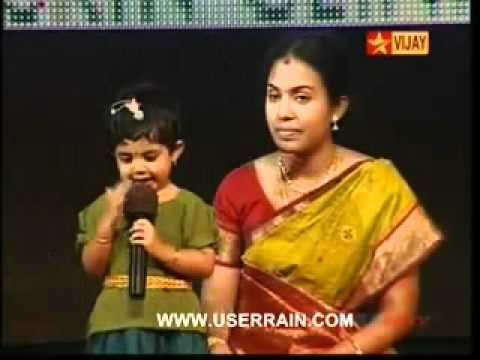 3yrs old child knows 1330 thirukural & say some sample!!.flv