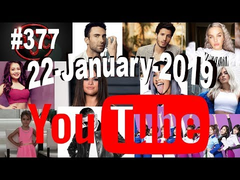 Today's Most Viewed Music Videos on Youtube, 22 January 2019, #377 thumbnail