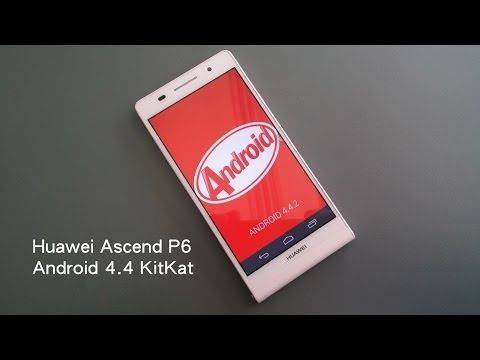 Huawei Ascend P6 running Android 4.4 KitKat