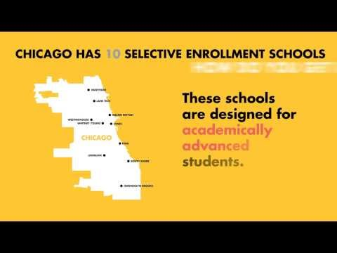 Understanding Admissions to Chicago's Ten Selective Enrollment High Schools