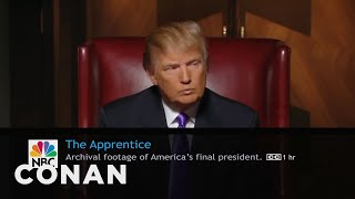 What Conan's Watching: The Apprentice, Bachelor In Paradise Edition  - CONAN on TBS