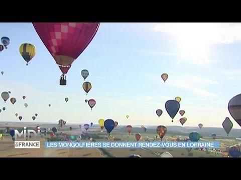 VU D'ICI : Les montgolfières se donnent rendez-vous en Lorraine