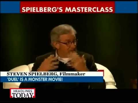 In an exclusive conversation with Steven Spielberg!
