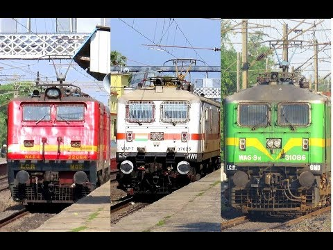 [7 in 1] High Speed Morning Actions at Asansol-BWN Stretch | Poorva+ YUVA+ HUMSAFAR+ GARBHA