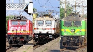[7 in 1] High Speed Morning Actions at Asansol-BWN Stretch   Poorva+ YUVA+ HUMSAFAR+ GARBHA