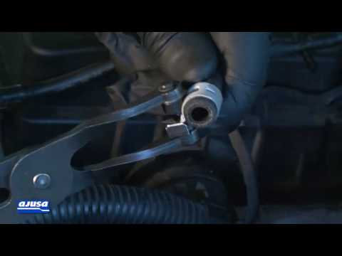 Oil feed pipe Assembly / Montaje tubo de engrase / VW PASSAT 2.0 TDI BMP