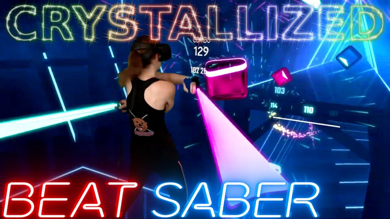 Download Beat Saber    Crystallized by Camellia (Expert+) Official Beat Saber DLC    Mixed Reality