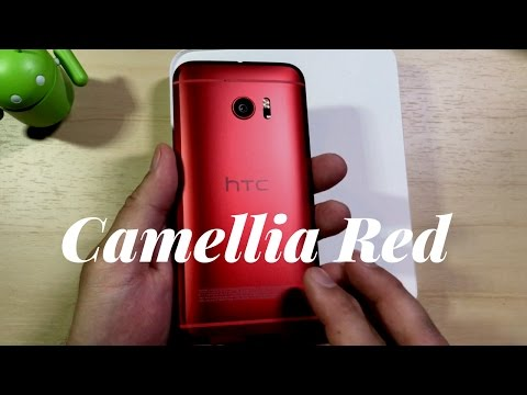 HTC 10 Camellia Red Unboxing