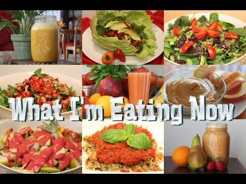 What I'm Eating Now *Winter* Raw Food Meal Ideas