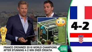 FRANCE VS CROATIA 4-2 [POST MATCH ANALYSIS] WITH PETER SCHMEICHEL!