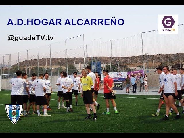 PRETEMPORADA 2019-2020 . PRIMERA JORNADA HOGAR ALCARREÑO 29  JULIO 2019  GUADALAJARATV