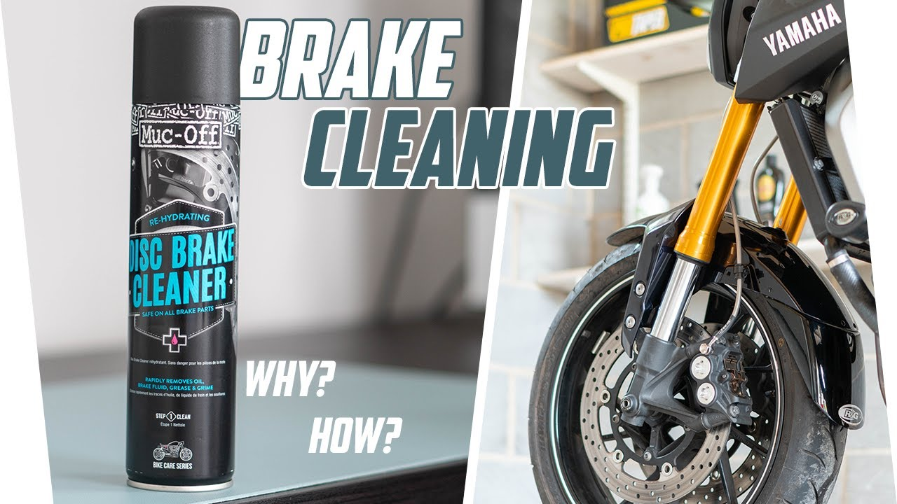 STOP! Clean Your Motorcycle's Brake Calipers