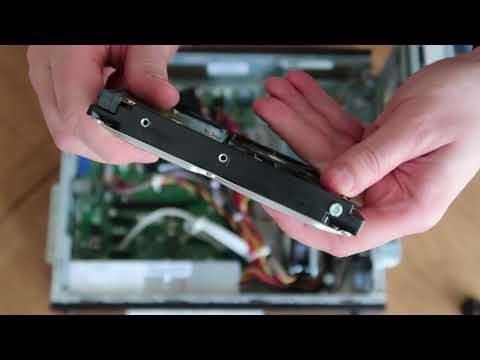 How to replace a Hard Drive on a HP PRO 3300 Series SFF