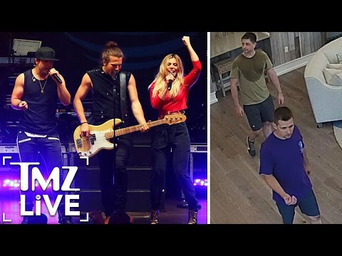 The Band Perry Concert Terror Scare | TMZ Live