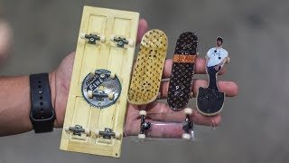 INCREDIBLE MINI BRAILLE BOARDS!! | YOU MAKE IT WE SKATE IT EP. 218