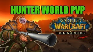 WoW Classic hunter WPVP  - Epic flare