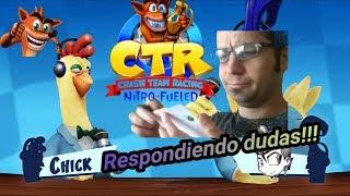 CRASH TEAM RACING NITRO FUELED   CTR EXPRESS   E3   Respondiendo dudas !!!