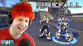 Scythe Plays Firefall ✪ MOST EPIC GAME EVER!? ● #01