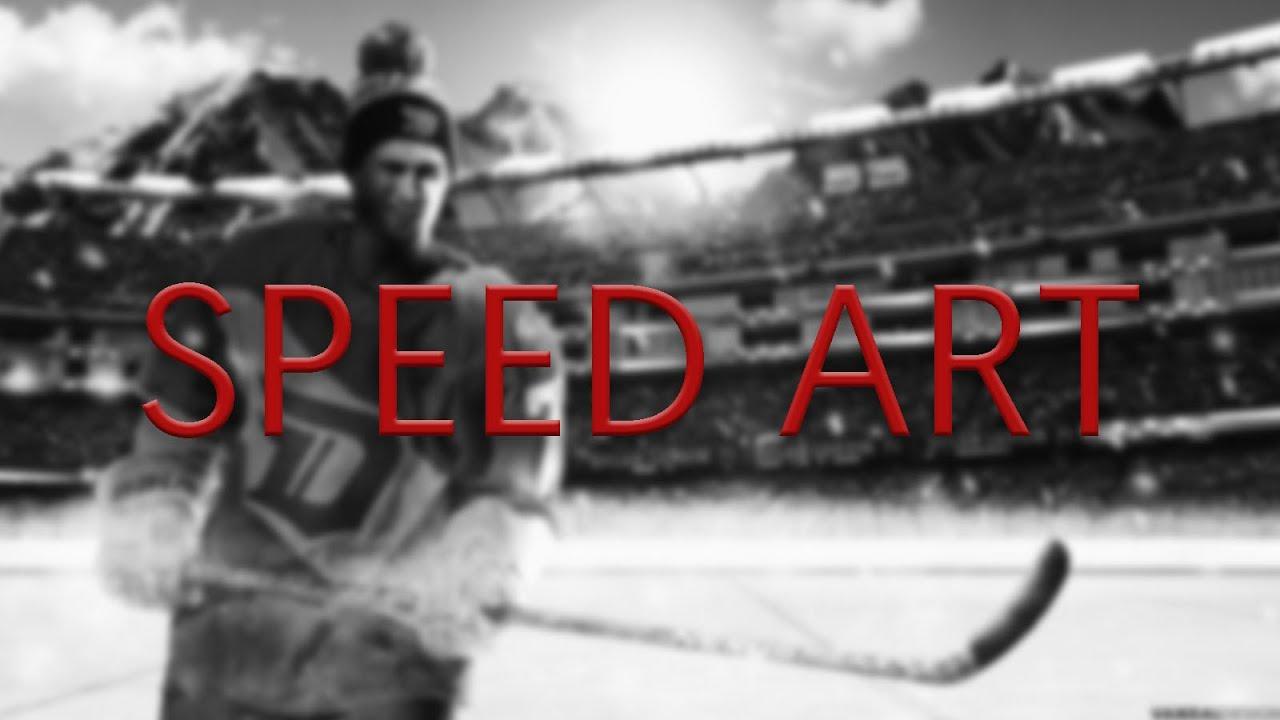 Dylan Larkin Stadium Series Wallpaper Speed Art (W/ Download)