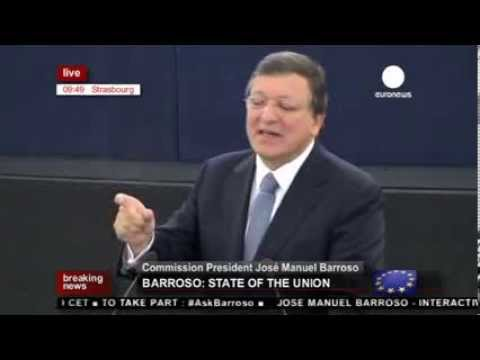 Barroso's State of the Union address 2013 (recorded live feed)