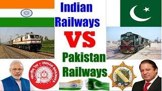 Pakistan React on भारतीय रेल बनाम पाकिस्तान रेलवे | INDIAN Railway Vs PAKISTAN Railway (2017&2018)
