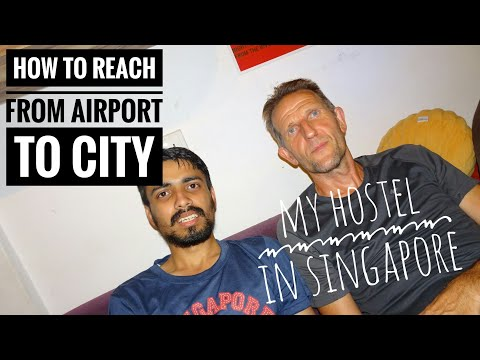 How to reach from Singapore Airport to City? Singapore Metro Fares & Pass for Tourists Part # 3