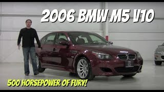 2006 BMW M5 V10 SMG - Throwback Video Test Drive with Chris Moran